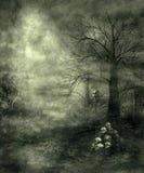 gotiskt landskap 28 royaltyfri illustrationer