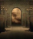 gotiskt landskap 35 Arkivbilder