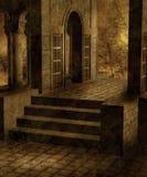 gotiskt landskap 61 Arkivfoto
