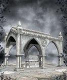Gotiskt landskap 65 royaltyfria bilder