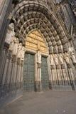 gotiskt mästerverk Arkivbild