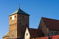 gotiskt slott Royaltyfri Bild