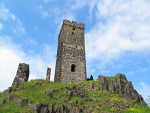 gotiskt slott Arkivbild