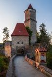 gotiskt slott Royaltyfria Bilder