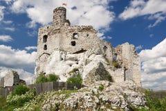 gotiskt stenigt för slott royaltyfria foton