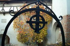gotiskt symbol royaltyfri foto