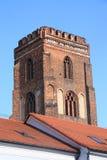 gotiskt torn arkivbild