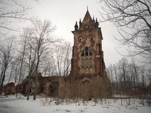 gotiskt torn Royaltyfri Foto