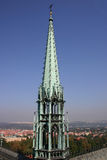 gotiskt torn Arkivfoto