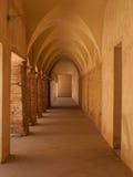 Gotiskt välvt galleri, Seville Royaltyfria Bilder