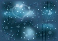 Gotita de agua ilustración del vector