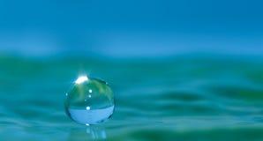 Gotita de agua Imágenes de archivo libres de regalías