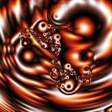 Gotita del fractal, (46a) Imagen de archivo libre de regalías
