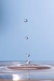 Gotitas de agua Imagen de archivo libre de regalías