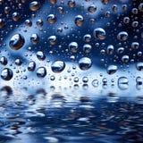 Gotitas de agua Fotos de archivo
