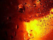 Gotitas de la cerveza Imagen de archivo libre de regalías