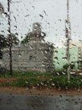 Gotitas de la lluvia fotos de archivo libres de regalías