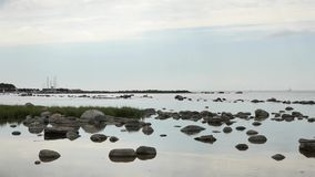 Gotland gestalten, Schweden in der Ostsee landschaftlich stock video