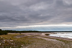 Gotland, Sweden coastal landscape Stock Photography