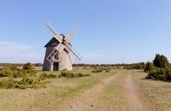 Gotlandic tower mill Royalty Free Stock Image