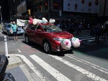 2016年GoTopless天NYC 13 库存照片