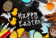 Gotować Easter ciastka obraz royalty free