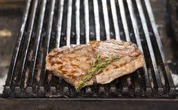 Gotować stek fotografia royalty free