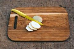 Gotować z świeżymi warzywami Obrazy Stock