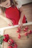 Gotować w kuchni Zdjęcia Royalty Free