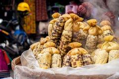 Gotowana kukurudza Zdjęcie Stock