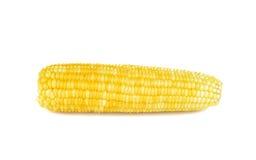 Gotowana kukurudza na białym tle Fotografia Royalty Free