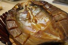 Gotowane garnele i uwędzony owoce morza dla piwnych kochanków zdjęcia royalty free