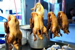 Gotowane kaczki i kurczak Obraz Stock