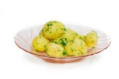 gotowane ziemniaki Obrazy Royalty Free