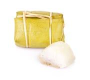 Gotowani cukierki wiążą ludu Tajlandia na białym tle Fotografia Stock