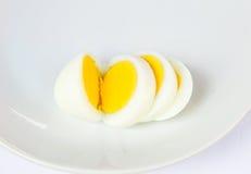 Gotowani jajka Obrazy Stock