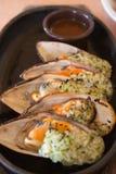 gotowani mussels zdjęcie stock
