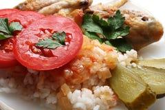 gotowani ryż Fotografia Royalty Free