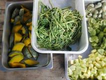 gotowani warzywa Fotografia Royalty Free