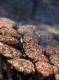 gotowanie grilla Zdjęcia Stock