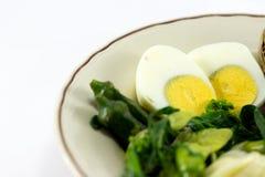 Gotowany jajko zdjęcia royalty free