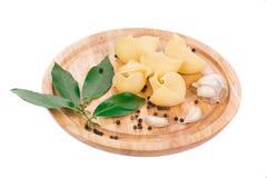 Gotowany lumaconi makaron Zdjęcia Stock