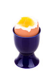 gotowany wyśmienicie jajko Zdjęcia Royalty Free