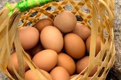 Gotowanych jajek Gorące wiosny Obrazy Stock