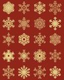 gotowe płatki śniegu Obrazy Stock