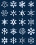 gotowe płatki śniegu Fotografia Royalty Free