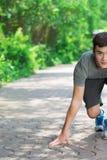 Gotowy jogger zdjęcie stock