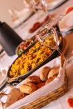 Gotowy stół dla gościa restauracji Obraz Royalty Free