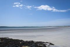 Gott άμμος κόλπων Στοκ φωτογραφίες με δικαίωμα ελεύθερης χρήσης