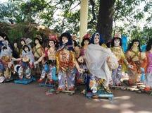 Gott Kartikeya-Idole lizenzfreies stockbild